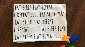 Eat, Sleep, Play Swaddle Blanket