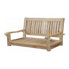 "Del-Amo 48"" Straight Swing Bench"