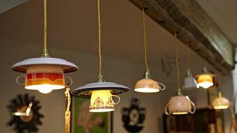 Räume mit Lieselotte Porzellan-Lampen