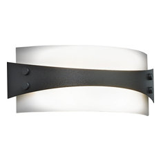 brown wall sconces with a dimmer switch houzz. Black Bedroom Furniture Sets. Home Design Ideas