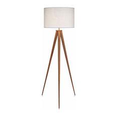 Versanora Romanza Tripod Floor Lamp White Shade 60 23 Lamps