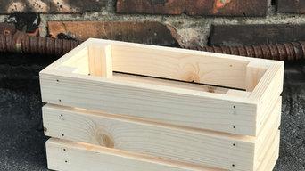 Декоративные деревянные ящики