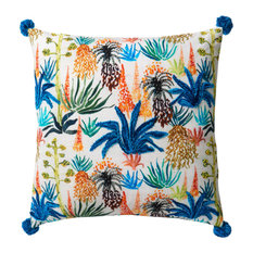 Loloi x Justina Blakeney Poly-Set Pillow Cover, Multi, 18""