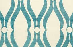 Voyage Wallpaper, Blue Arches