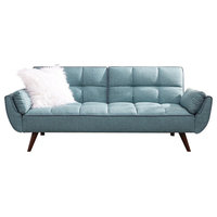 Sofa Bed, Turquoise Blue