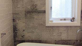Bathroom - Mixing Period with Industrial