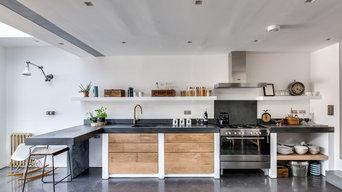 Holton Street - Basalt Satin Polished Concrete