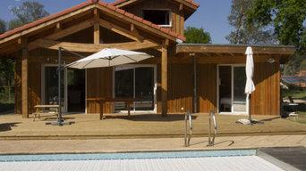 Réalisation de tours de piscine en bois