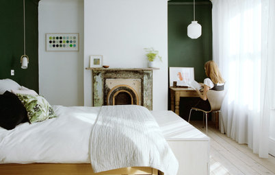22 Ideas for Green Bedrooms