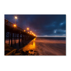 'Night Side' Canvas Art by Chris Moyer