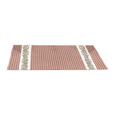Burgundy Berry Vine Country Placemats (Set of 4)