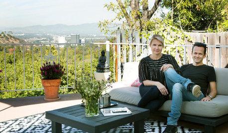 Houzz Tour: Gudrun och Kristoffers skandinaviska hem i LA