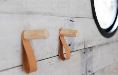 Lederriemen und -bänder:  10 Ideen für den Einsatz als Wohn-Accessoire