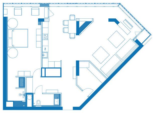 Лофт План этажа by buro5