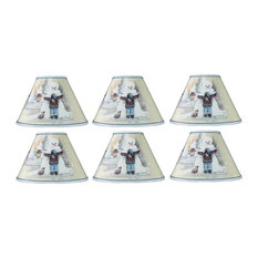 Snowman Scene Shade, Set of 6