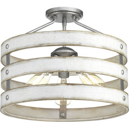 Farmhouse Flush-mount Ceiling Lighting by Buildcom