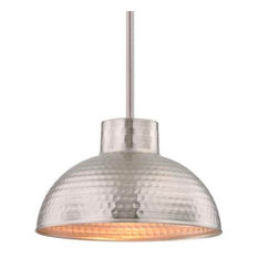 Funnelye Inc.   1 Light Indoor Pendant, Hammered Oil Rubbed Bronze Finish  And