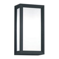 "Arnsberg 2280601 Timok 11"" Tall Outdoor Wall Sconce - Black"