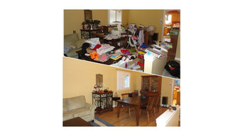 Before and After Photos of Organizing Sessions