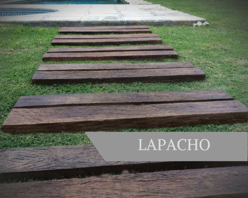 LAPACHO Línea WOOD - Wall And Floor Tile