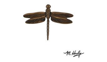 Dragonfly Best Seller Door Knocker, Oiled Bronze