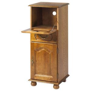 Brittany Oak Storage Unit