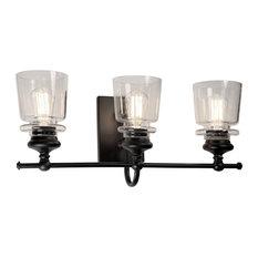 Castara 3 Light Wall Light, Black AC11593BK