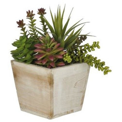 Farmhouse Artificial Plants And Trees by House of Silk Flowers, Inc