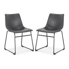 Brinley Dining Chair Set Of 2 Gray