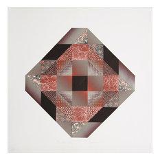 Kathy Caraccio, Oriental Bleak, Mixed Media Collage