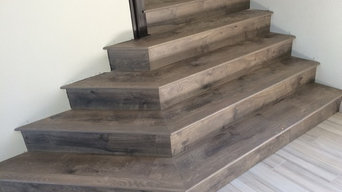 Laminate by Armstrong on stairs