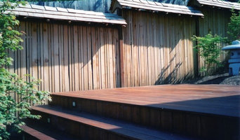 japanese fence and IPE deck