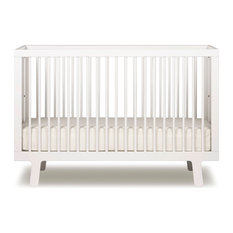 Oeuf - Sparrow Crib, White - Cribs