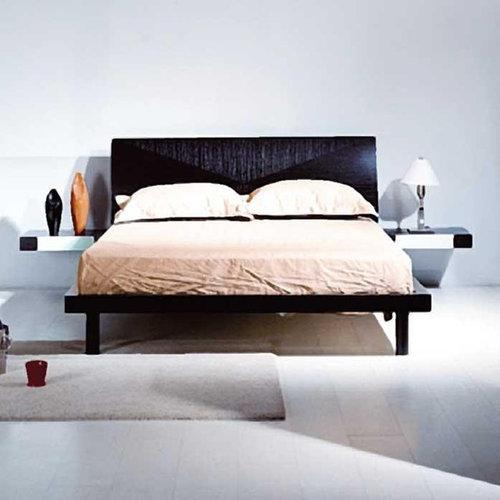 modern wenge platform bedroom set bedroom furniture sets