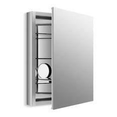 "Kohler Verdera 24"" W X 30"" H Medicine Cabinet w/ Adjustable Magnifying Mirror"