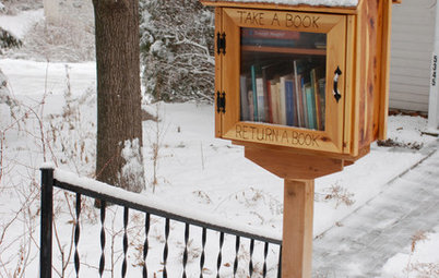 Book It: Bring a Mini Library to Your Front Yard