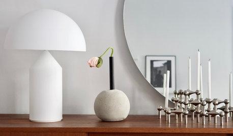 Gör det själv: Vacker blomvas med rund betongfot