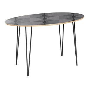 2 Modern Maryland Terrapins Game Room Table Black Wrinkle