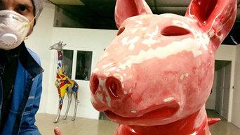 Bulle Terrier (2016) 115 X 80 cm