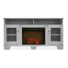 "59.1""x17.7""x31.7"" Savona Fireplace Mantel With Insert"