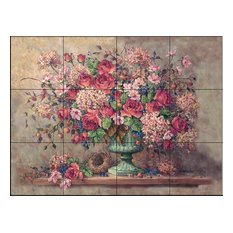 Tile Mural, Colettes Collection by Barbara Mock