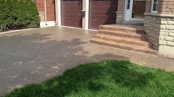 Stamped Concrete & Epoxy