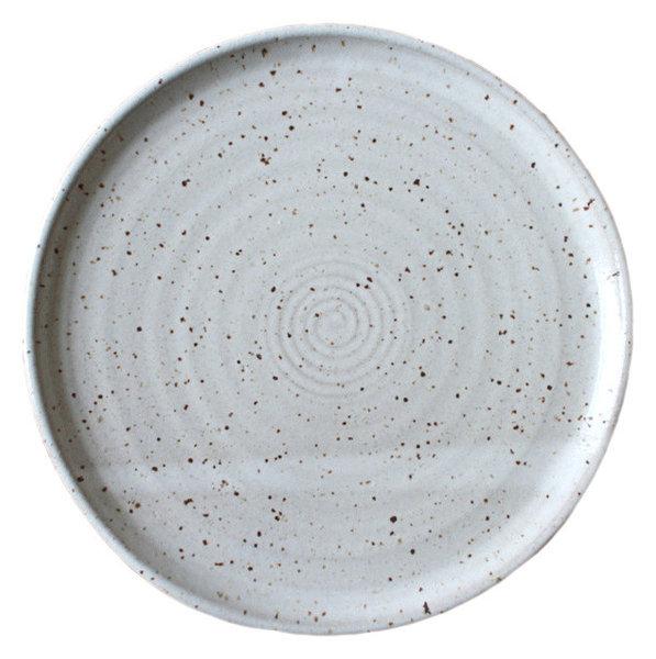 Earthware Handmade Dinner Plate Speckled White  sc 1 st  Houzz & Earthware Handmade Dinner Plate Speckled White - Farmhouse - Dinner ...
