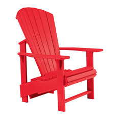 Generations Upright Adirondack Chair, Red