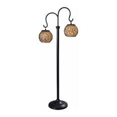 Castillo Outdoor Floor Lamp, Bronze Finish