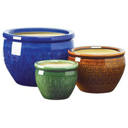 Mediterranean Outdoor Pots And Planters by Koolekoo