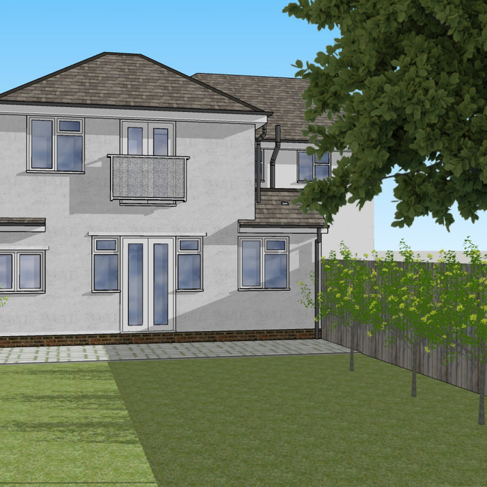 Rear House Extension Design