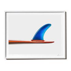 """Plastic Fantastic"" Surf Art Photograph, White Frame, 40''x52''"