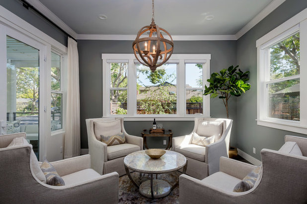 Transitional  by Jan McMahon Interiors