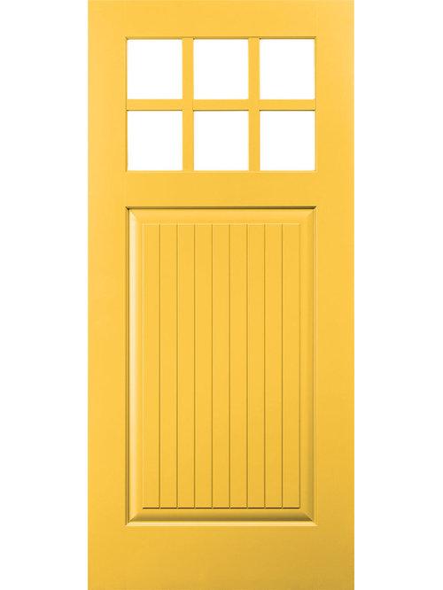 pella doors craftsman. Pella® Architect Series® Plank Craftsman Light Smooth Door - Front Doors Pella